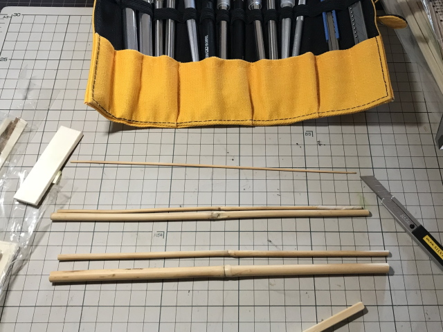 作り方 竹竿
